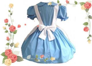 this darling alice in wonderland outfit consists of dress apron the