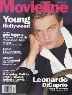 Movieline Magazine Leonardo DiCaprio Alicia Silverstone