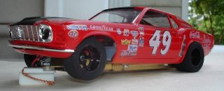 49 Bobby Allison Mustang Custom Built 1 24 Slot Car