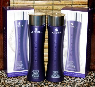 Alterna Caviar Moisture Shampoo Conditioner Set 8 5 oz Sulfate Free