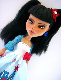 Shelby OOAK Dressed Monster High Cleo Repaint by Alison
