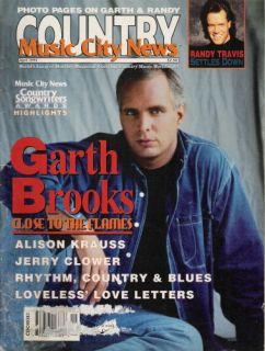 GARTH BROOKS Alison Krauss Randy Travis 1994 Music City News N