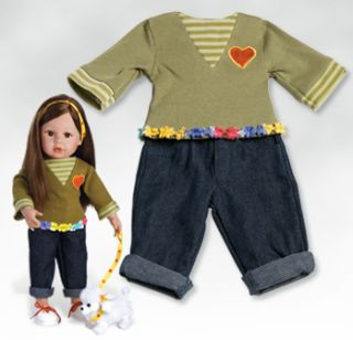 Emmas Outfit Fits 18 inch Dolls All American Girl Dolls