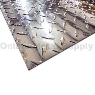 aluminum diamond plate 093 x 12 x 24 aluminum diamond plate aluminum