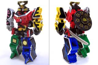 Power Rangers Samurai Sentai Shinkenger DX Shinken Oh Super Megazord