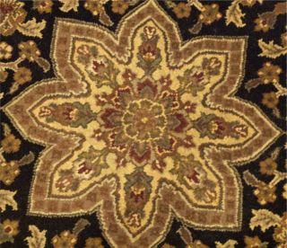 6x6 Beautiful Handmade Round Carpet Agra Wool Rug 1325