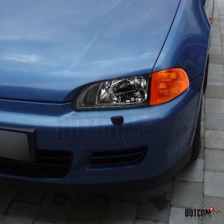 1992 1995 Honda Civic 2dr 3DR JDM Amber Corner Lights