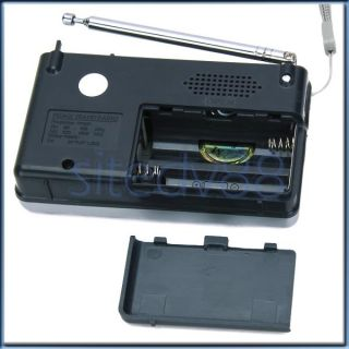 New Mini Portable Am FM 2 Band Pocket Radio Receiver