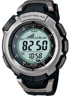 Casio PROTREK Compass Altimeter Solar Watch PRG 110 1v