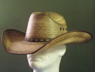 Resistol Jason Aldean Amarillo Sky Palm Cowboy Western Hat