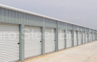 Duro Steel 40x100x8 5 Metal Building Mini Self Storage Includes 32