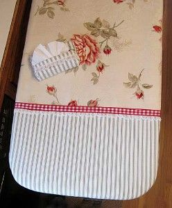 Custom Ironing Board Cover Waverly Ambridge Rose Fabric Gift