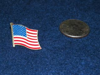 Patriotic American Flag Hat Lapel Pin United States USA