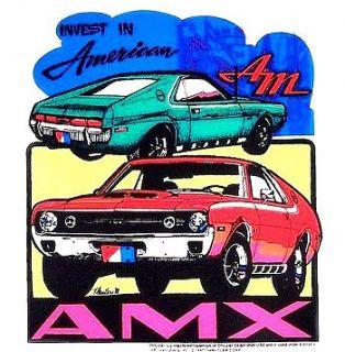 1970 American Motors Javelin AMX T Shirt Tee CC36
