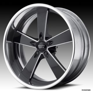 17x7 American Racing VN 472 Custom Bilt Chevy Ford Dodge Mopar Wheels