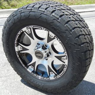 17 American Racing Dagger Wheels Rims Nitto Terra Grappler Ford F250