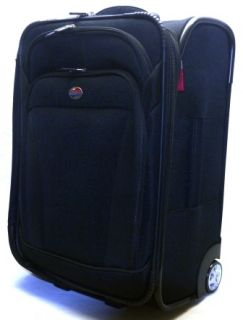 American Tourister Luggage Ilite Dlx 21 Upright Black One Size