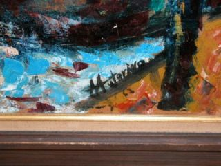 Michael Anthony Autorino Impressionist Oil Painting 2x3 Lambertville