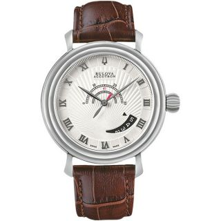 Bulova Accutron Amerigo 63B021 Swiss Made Automatic Mens Watch ETA