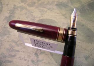 Omas Amerigo Vespucci Limited Edition Fountain Pen (1989)   18k Medium