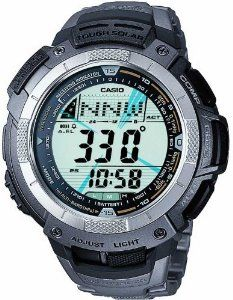 Casio G Shock Titanium Pathfinder PAW 1100 7V Solar Altimeter Watch