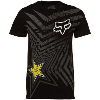 Sir T Shirt Rockstar Energy Drink Mens T Shirt Black Size L