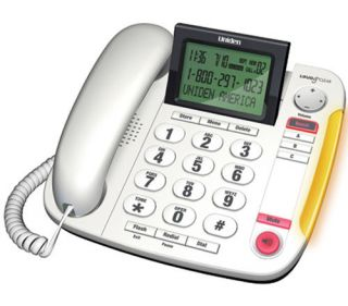 Uniden CEZ260 Big Button Amplified Corded Phone w Power Failure