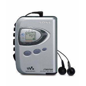 SONY WMFX290W WALKMAN WEATHER AM FM RADIO CASSETTE PORTABLE PLAYER