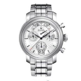 Bulova 63C109 Accutron Amerigo Chronograph Mens Watch