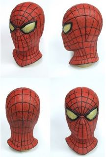 The Amazing Spider Man Spiderman Mask Rubber Party Mask Full Face Head
