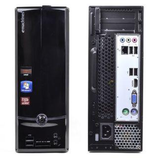 eMachines Micro Desktop AMD Fusion Dual Core DVDRW HD HDMI Windows 7