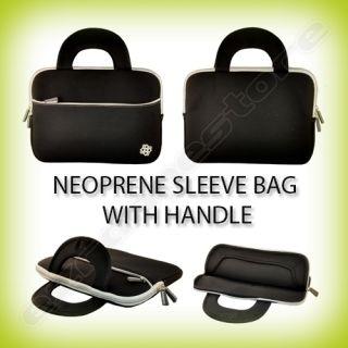 Black Neoprene Case Sleeve Bag for HP Touchpad Tablet PC
