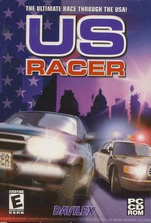 US RACER   Auto Car USA Racing Simulation PC Game   BRAND NEW in BOX!