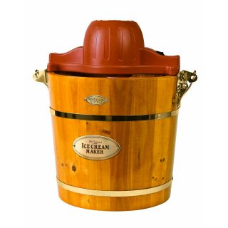 Icmw 400 4QUART Wooden Bucket Electric Ice Cream Maker B366