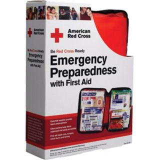 American Red Cross Emergency Preparedness and First Aid Kit with Guide