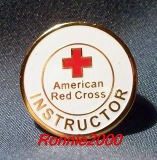 Instructor American Red Cross Pin Brand New Pin