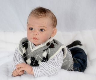 New Baby Boy Vinyl Doll Kit by Andrea Arcello in Stock Now