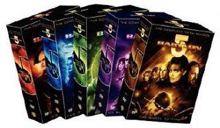 New Babylon DVD 1 5 Seasons 1 2 3 4 & 5 Complete