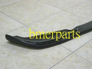 BMW E46 2001 2006 M3 Ha Style Carbon Fiber Front Lip Spoiler Coupe