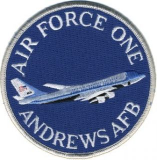 Andrews Air Force Base Air Force One USAF Blue Patch