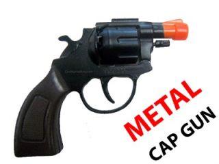 Cap Gun Toy Pistol Fires 8 Shot Ring Caps 38 Detective Special