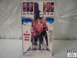 Double Threat VHS Sally Kirkland Andrew Stevens 052749205932