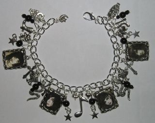 Andy Sixx Biersack Black Veil Brides Charm Bracelet No 2