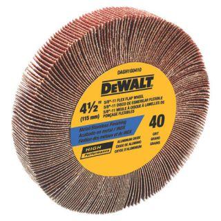 Dewalt DAGH1G0410 Flap Wheel Angle Grinder 4 1 2 40g
