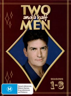 Two and a Half Men Seasons 1   8 (The Charlie Sheen Years) (DVD)
