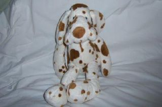 Toys R US Animal Alley Dog White Brown Spot Dalmation Hound Stuffed