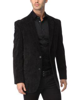 Andrew Fezza Black Corduroy Blazer