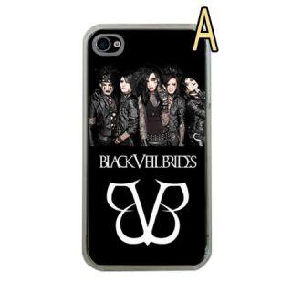 Black Veil Brides Andy Andrew Biersack Apple iPhone 4 4S Picture Case