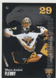 02 03 Cape Breton Screaming Eagles Marc Andre Fleury QMJHL