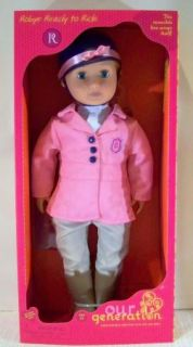 ROBYN READY TO RIDE EQUESTRIAN HORSE RIDING 18 DOLL   BATTAT OUR
